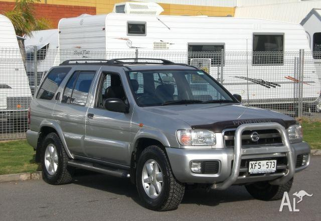 nissan pathfinder ti 4x4 2002 for sale in gepps cross south australia classified. Black Bedroom Furniture Sets. Home Design Ideas