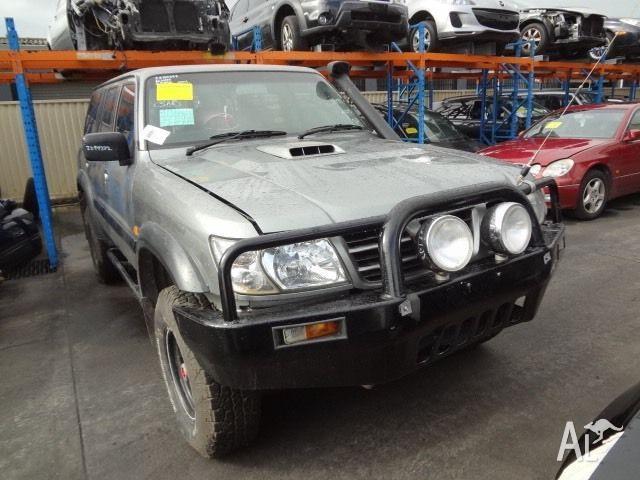 Nissan Patrol Turbo Diesel Manual 05/03 Wrecking