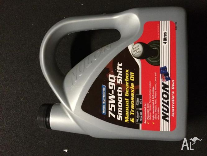 Nulon Smooth Shift 75-90W gearbox oil 4 litres - NEW