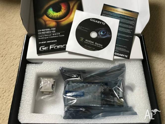 Nvidia Gigabyte Geforce GT 210
