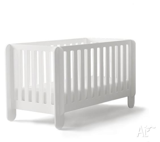 Oeuf Elephant Cot - White (Brand New In Box)