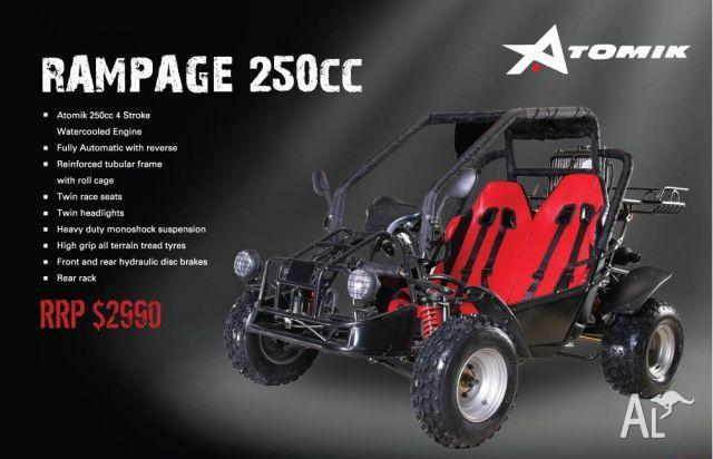 OFF ROAD BUGGY ATOMIK RAMPAGE 250cc  2011