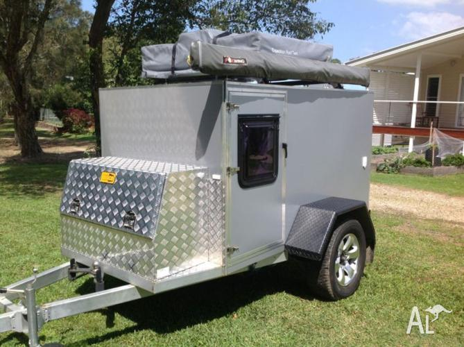 off road camper trailer teardrop style for sale in hastings point new south wales classified. Black Bedroom Furniture Sets. Home Design Ideas