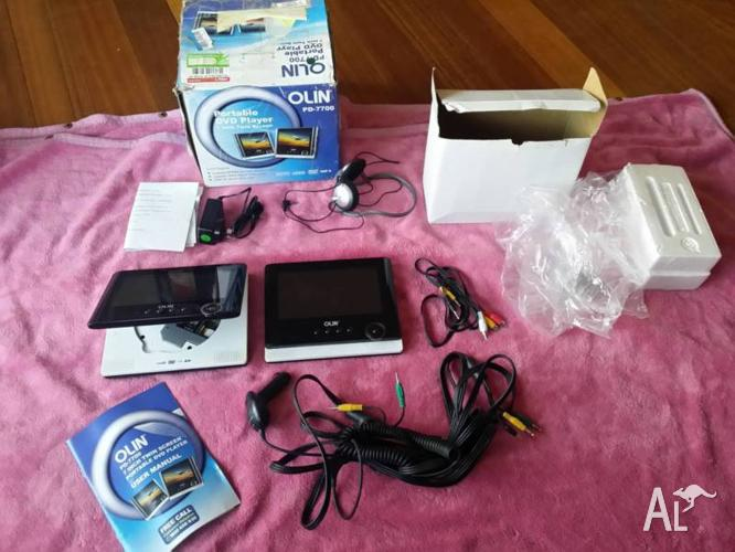 OLIN PD-7700 Portable DVD player