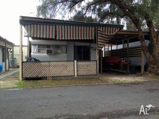 On Site Caravan/Aluminium Annex @ Yarraby Caravan Park