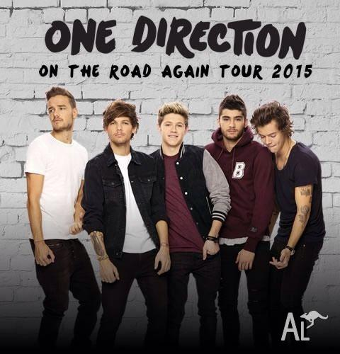 ONE DIRECTION CONCERT TICKETS MELBOURNE - BELOW COST-