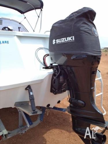 One owner 6.2mtr Quintrex with 140hp Suzuki. Bowrider