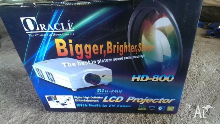 Oracle HD-800 LCD Projector Home Cinema