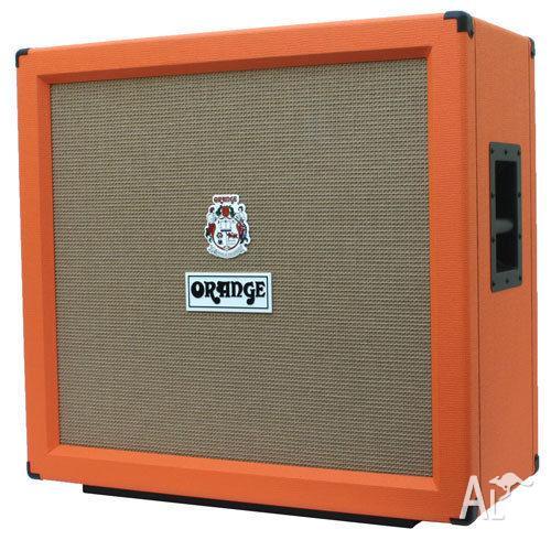 Orange PPC412 4x12 guitar speaker cabinet