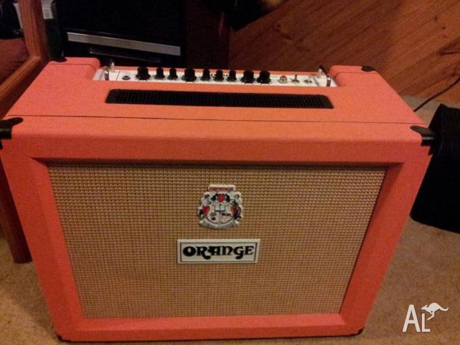 Orange Rockerverb 50 2x12 Combo
