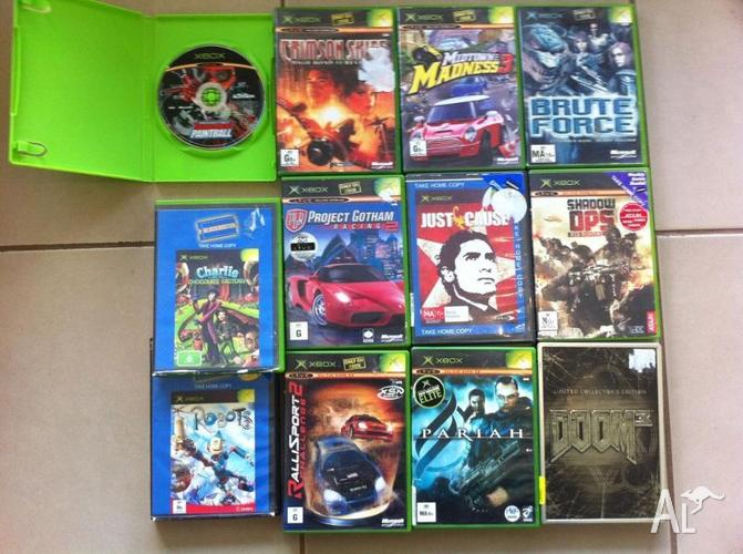 Original Xbox Games For Xbox : Original xbox games need to sell asap for sale in rye