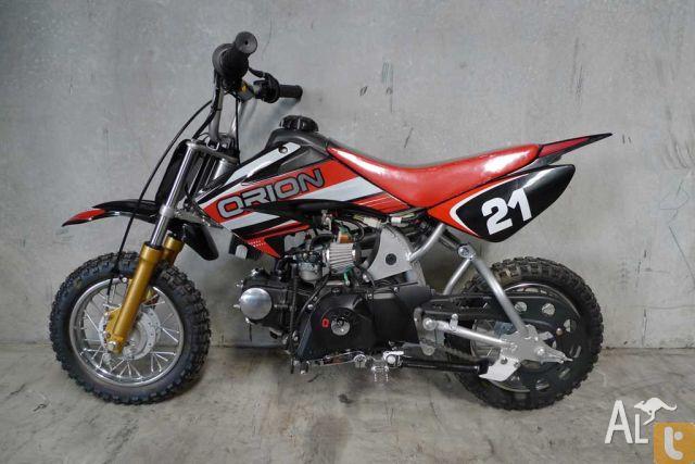 orion 21a 70cc mini dirt bike thumpster pit bike 2010 for. Black Bedroom Furniture Sets. Home Design Ideas