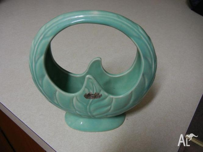 Ornamental Pottery Basket