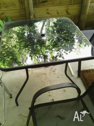Out Door Table And Chairs, has never been used.