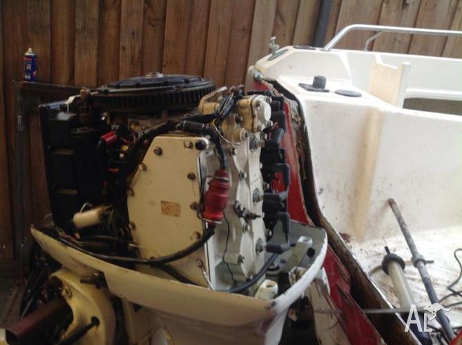 Outboard motor 70 hp johnson