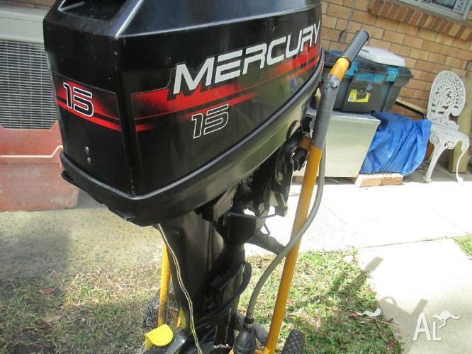 Outboard Motor Mercury 15 Hp Two Stroke Fantastic