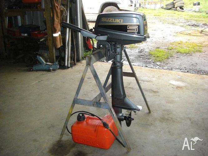 Outboard motor suzuki 5 hp for sale in brandum tasmania for 5hp outboard motor for sale