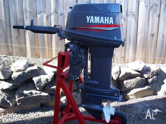 Outboard motor yamaha 50hp for sale in grasstree hill for Used yamaha outboard motor parts
