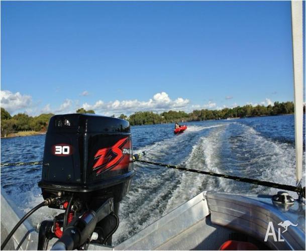Outboard Motors - 30 HP 2-Stroke Electric Start Long