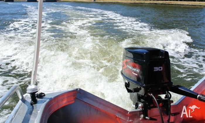 Outboard Motors - 30 HP 2-Stroke Electric Start Long Shaft for Sale
