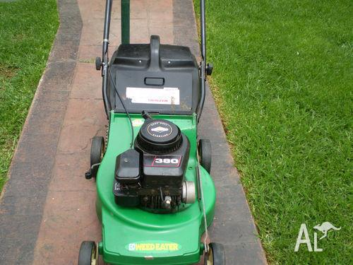Oz made Briggs&Stratton 4 Stroke Mower&Catcher-3 Mth