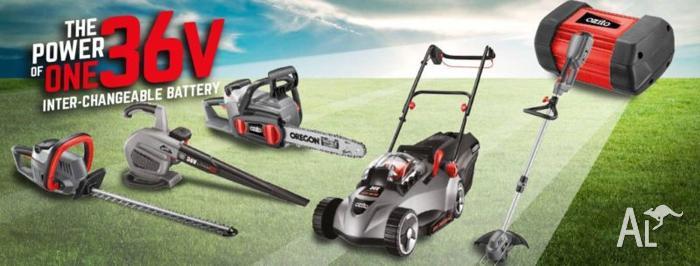 OZITO Gardening - Lawnmower/Blower/Chainsaw/Hedge
