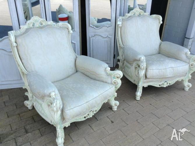 Pair Italian armchairs for Sale in ALFRED COVE, Western ...
