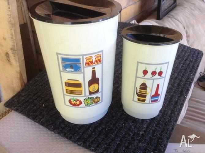 Pair of Retro Canisters