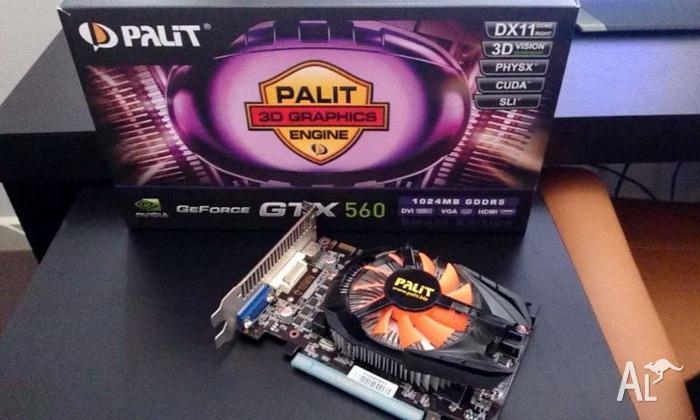 Palit Geforece GTX 560 (Smart Edition) 1GB GDDR5 -