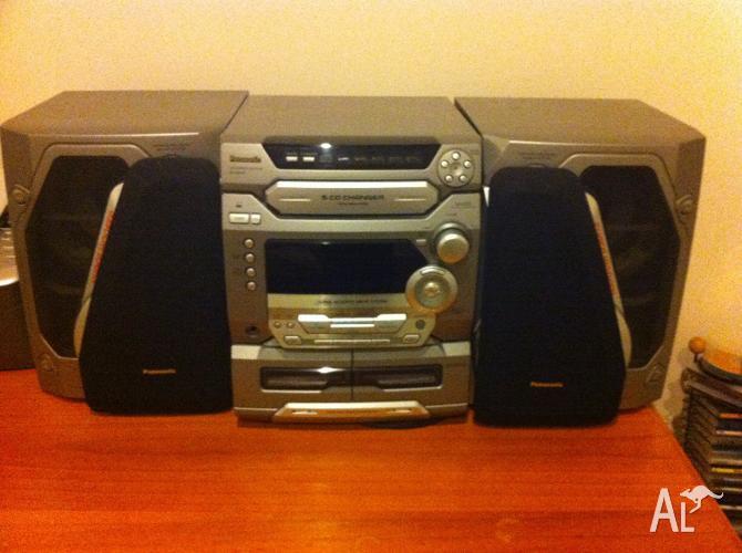 panasonic 5 cd changer