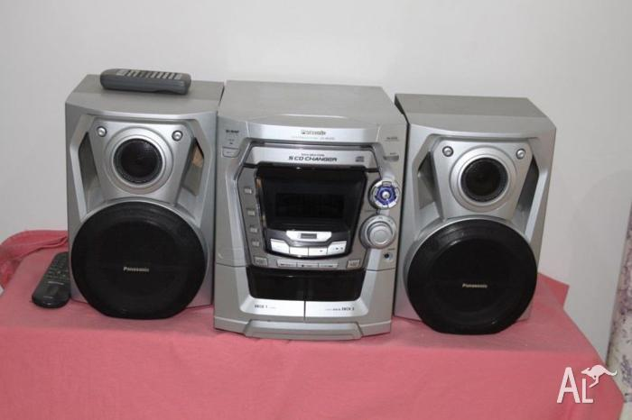 Panasonic 5Disc / Turner / Cassette / Stereo with