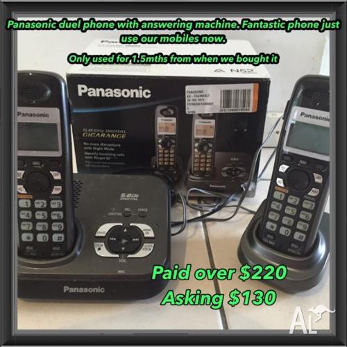 Panasonic duel home phone answering machine