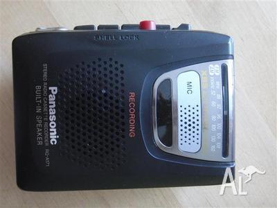 Panasonic RQ-A171 AM / FM Personal portable Cassette