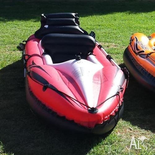 PATHFINDER I INFLATABLE KAYAK 2 PERSON