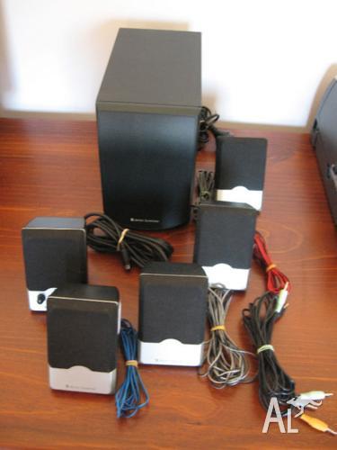 PC Surround sound 5 speaker + subwoofer