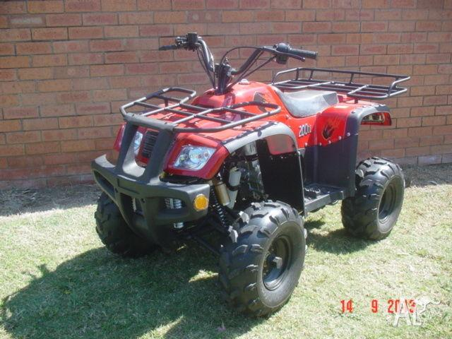 Peace Sports 200cc ATV/Quad Bike Brand New Fully