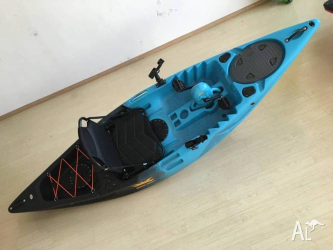 pedal kayak - Kings Kraft - Australian Design !! 8x rod