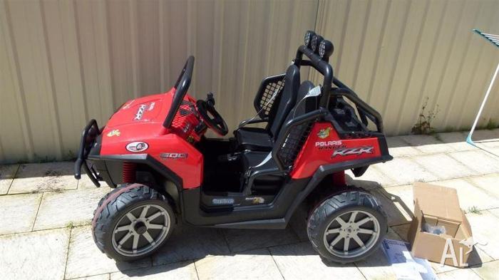peg perego polaris ranger rzr 24v dune buggy 2 seater for sale in ashby western australia