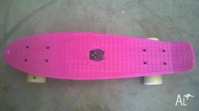Penny style Skateboard Pink or orange