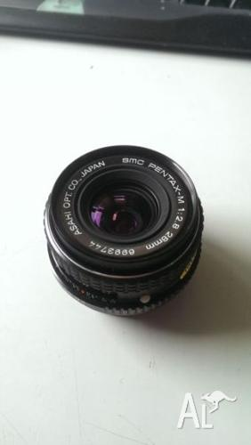 Pentax Asahi 28mm f/2.8