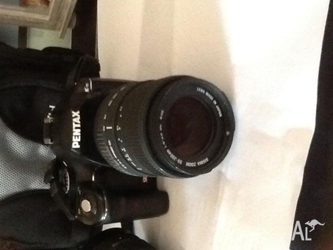 Pentax SLR digital camera