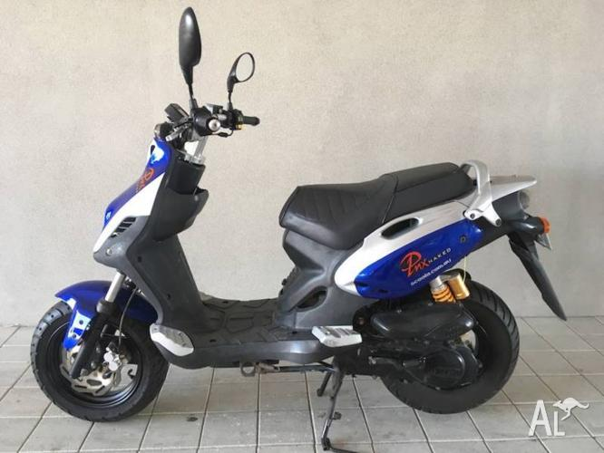 PGO PMX naked used 50cc scooter SECOND HAND