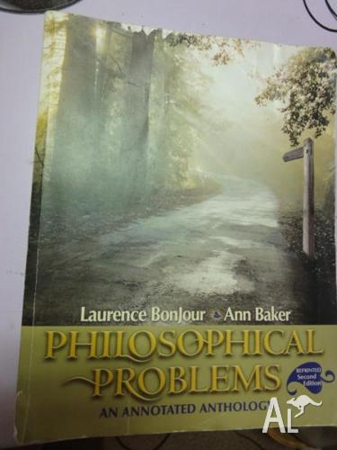 Philosophical Problems: An Annotated Anthology 2nd Ed.