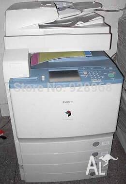 Photocopier Canon irc4080 multifuntion color copier