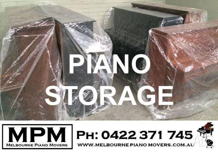Piano Storage - Upright, grand, baby grand. Melbourne.