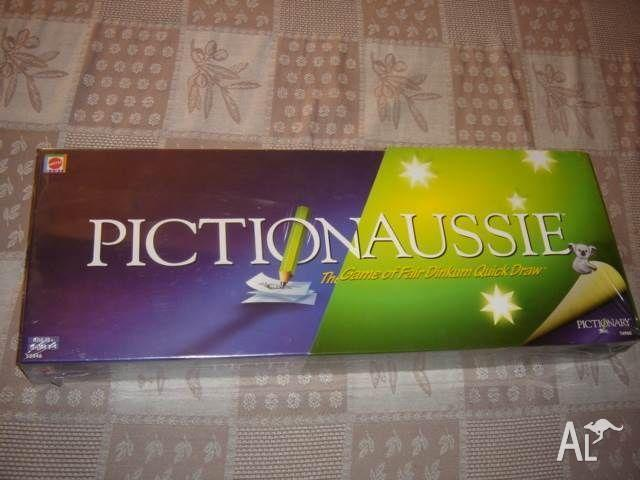 Pictionaussie Australian Pictionary NEW SEALED 2008