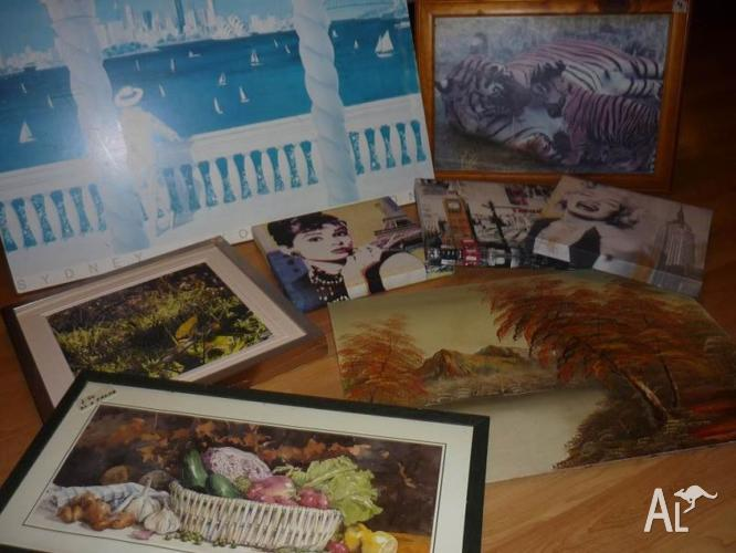 Pictures and photo frames ($3 - $5).