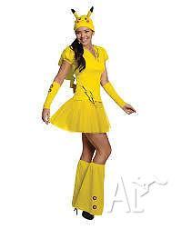 Pikachu costume for sale
