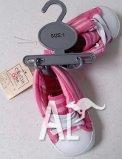 pink baby shoes - size 1