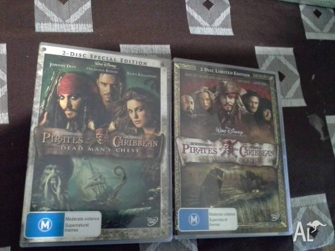 Pirates of Caribbean - Dead Man's Chest/AtWorld's End